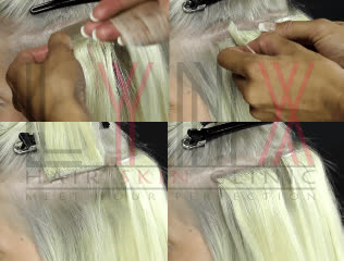 Tape-in Hair Extension in Gurgaon (Permanent)
