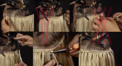 Weft-Ring Hair Extension