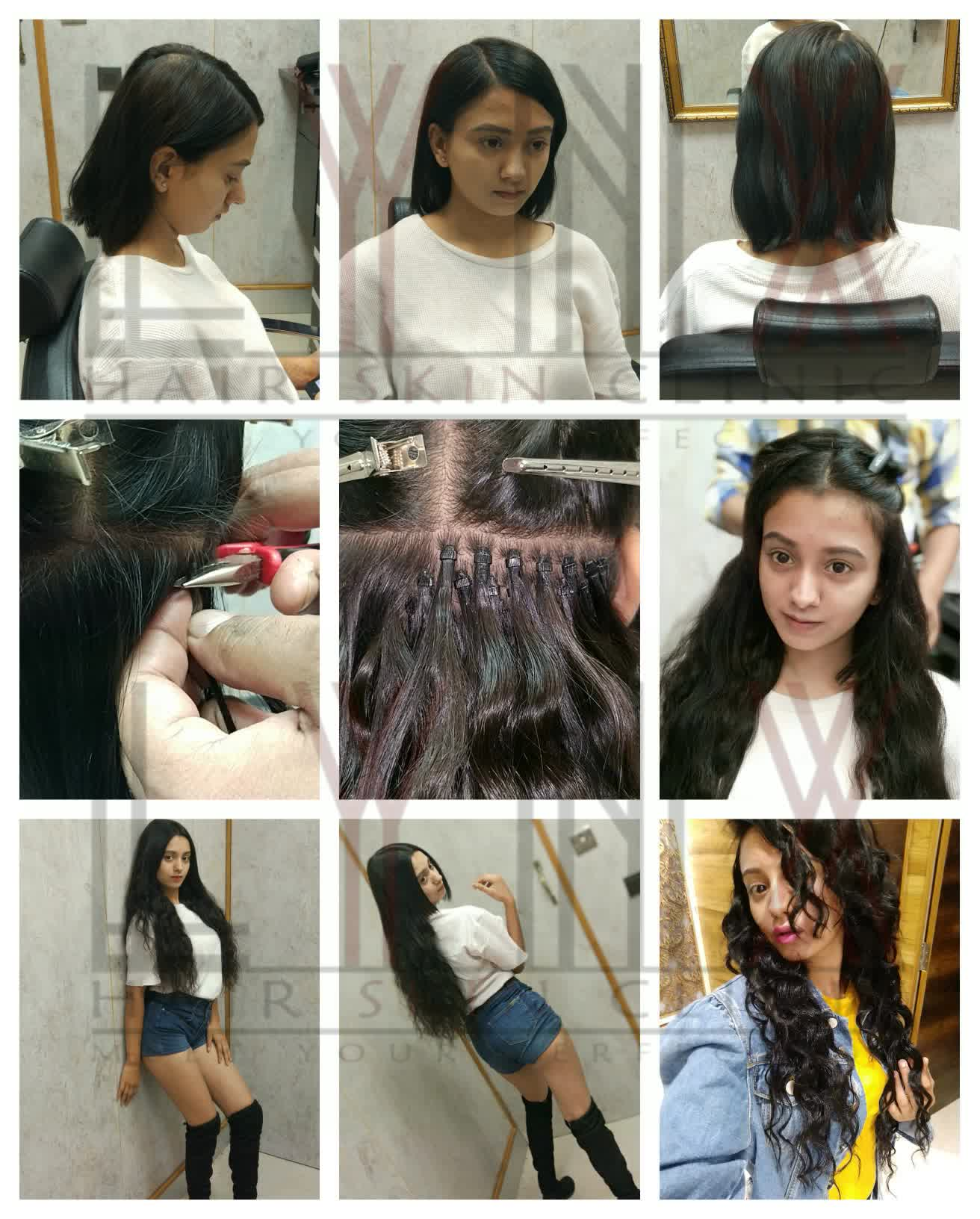Permanent Hair Extension in Gurgaon